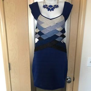 Amazing Blue WOW Couture Dress!